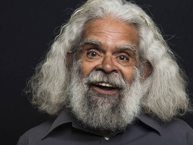 Jack Charles photographer credit Sunny Brar for 2017 The Face Exhibition at 107 projects