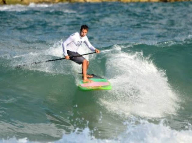 Sup TLV? Stand up for your rights [to surf] with this water sport du jour