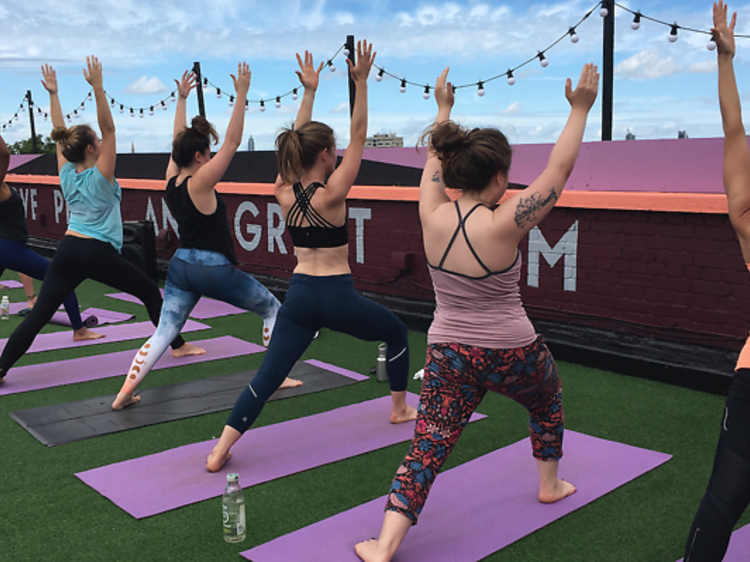 Rooftop Yogarise