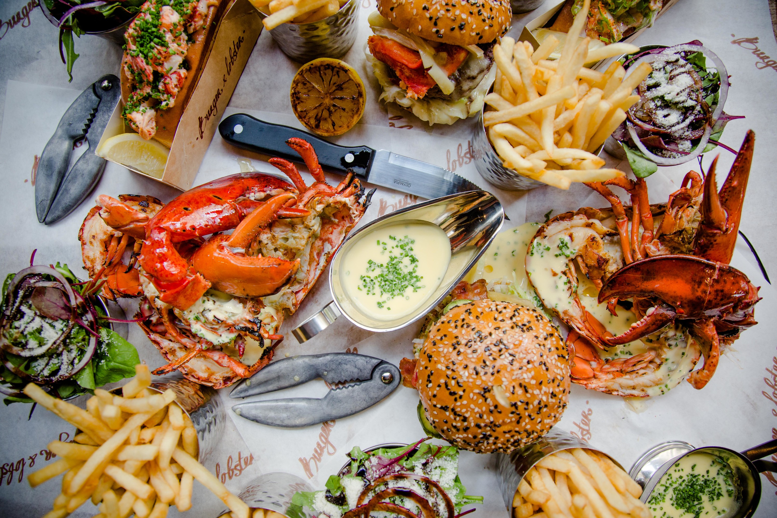 Burger & Lobster Bond Street