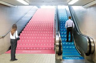 La genial campaña en el metro de NY contra la desigualdad de género