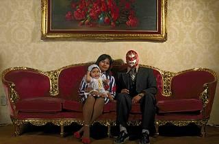 lucha libre, máscaras mexicanas, Museu de Lisboa — Palácio Pimenta