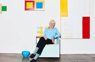 Mary Heilmann talks about mixing geometry and pop culture in her work