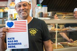 Small businesses across NYC have launched a new campaign to promote inclusiveness