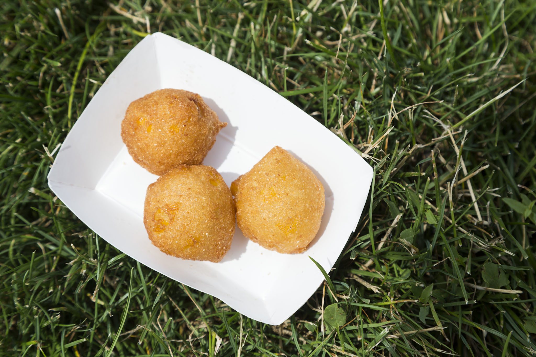 Corn Fritters from Lawrence's Fish and Shrimp