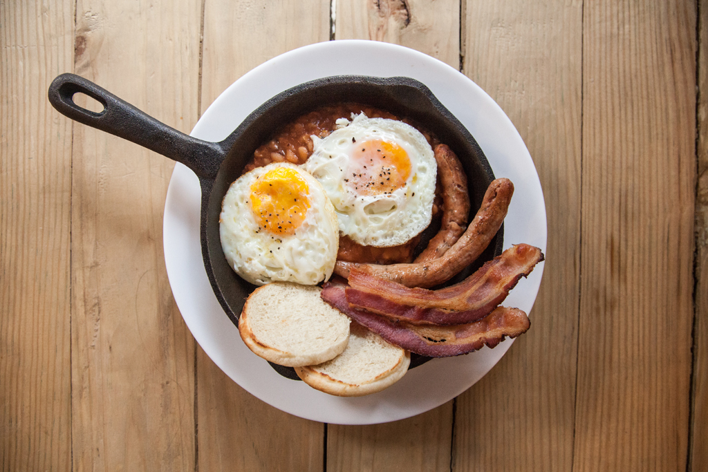 Huevos english breakfast cdmx