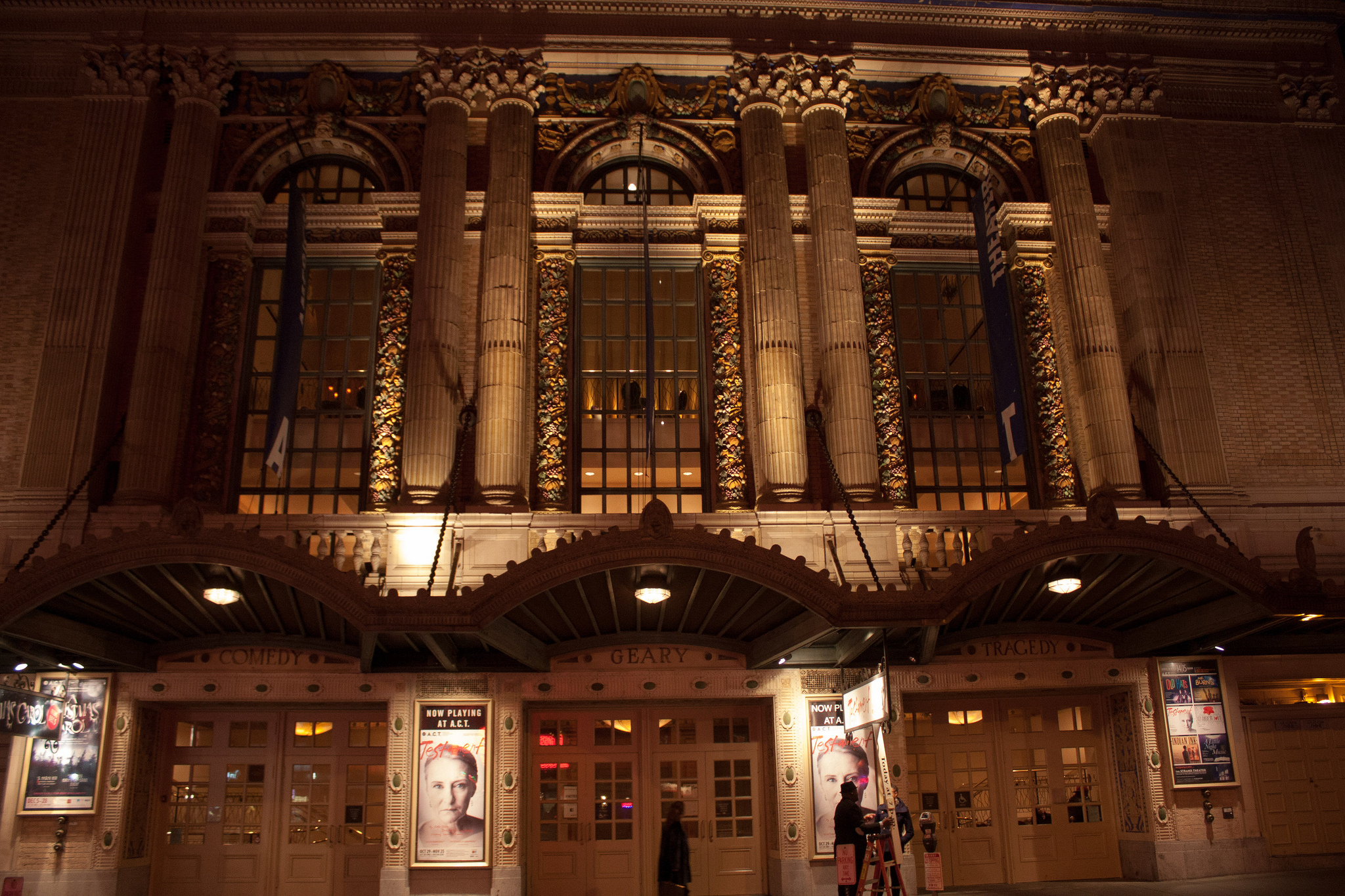 American Conservatory Theater stage