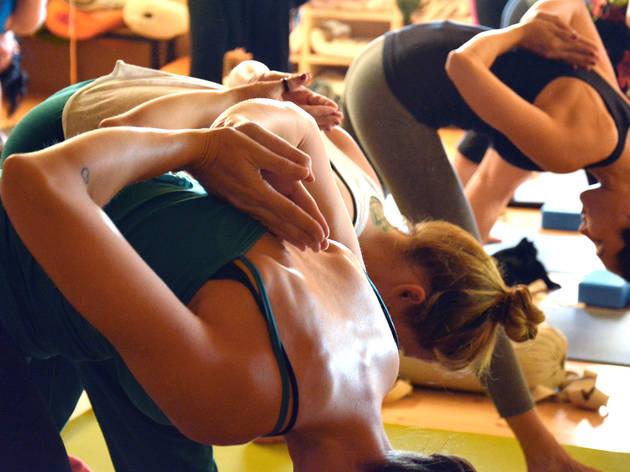 Generic yoga women workout