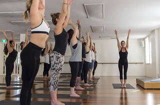 People doing yoga at BodyMindLife Surry Hills