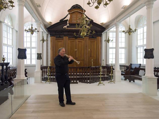 Klezmer in the Israel Museum Gallery