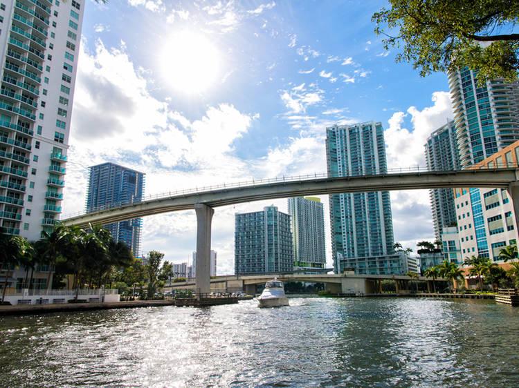Full Moon Over Miami River Cruise