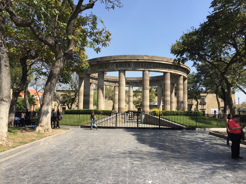 Rotonda de los Jaliscienses Ilustres Guadalajara, Jalisco