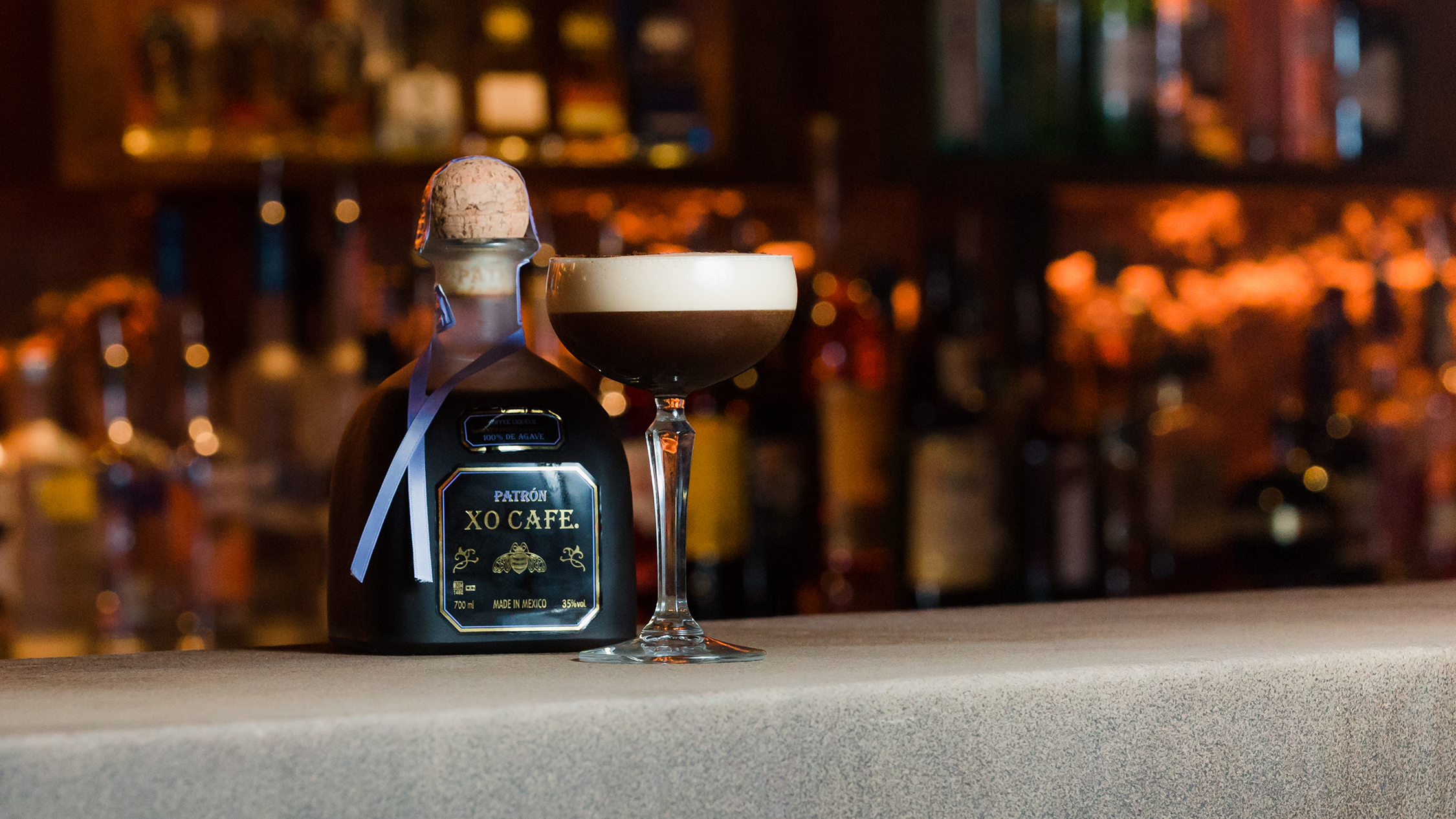 The Argyle Espresso Martini Patron
