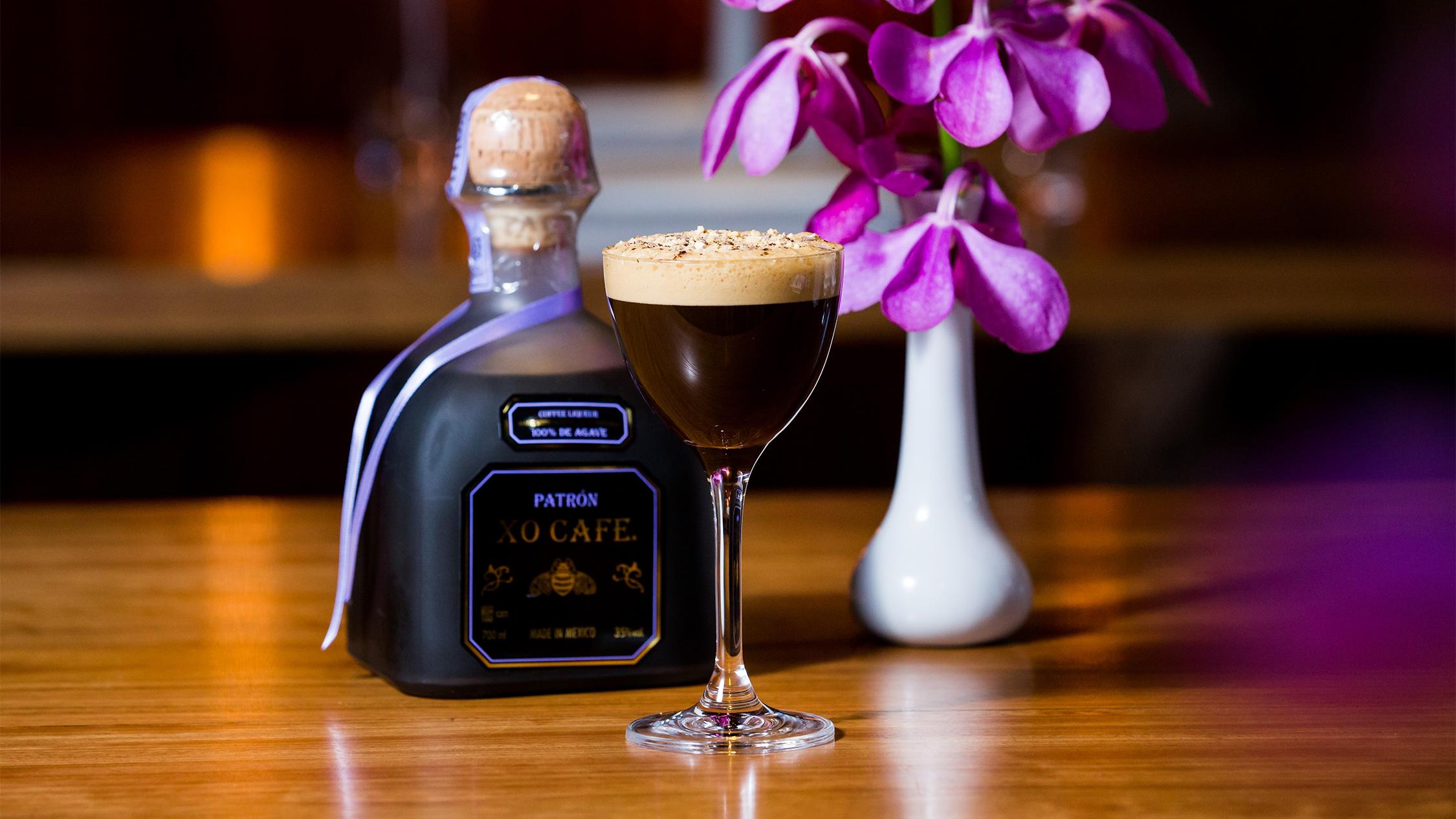 Sake Patron Espresso Martini