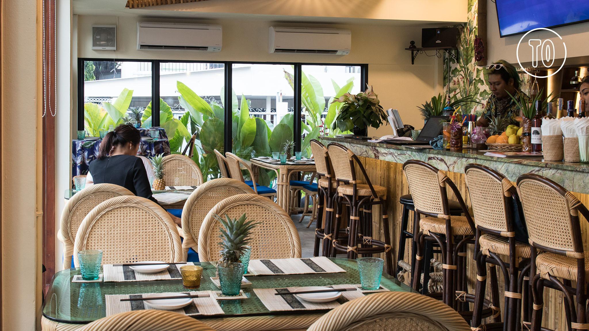 Pakalolo, the new Hawaiian-themed bar in Ari