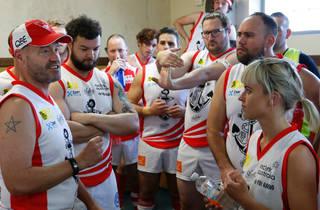 Sydney Reclink Community Cup 2016 lockerroom pop talk Rod Hunt
