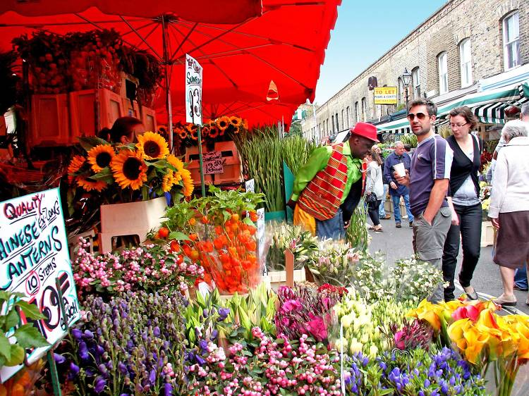 Spend a Sunday at Columbia Road Flower Market