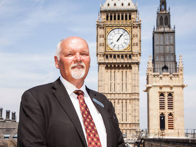 Steve Jaggs, Keeper of the Great Clock at the Palace of Westminster