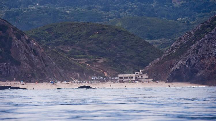 Praia da Adraga - Vista do Mar