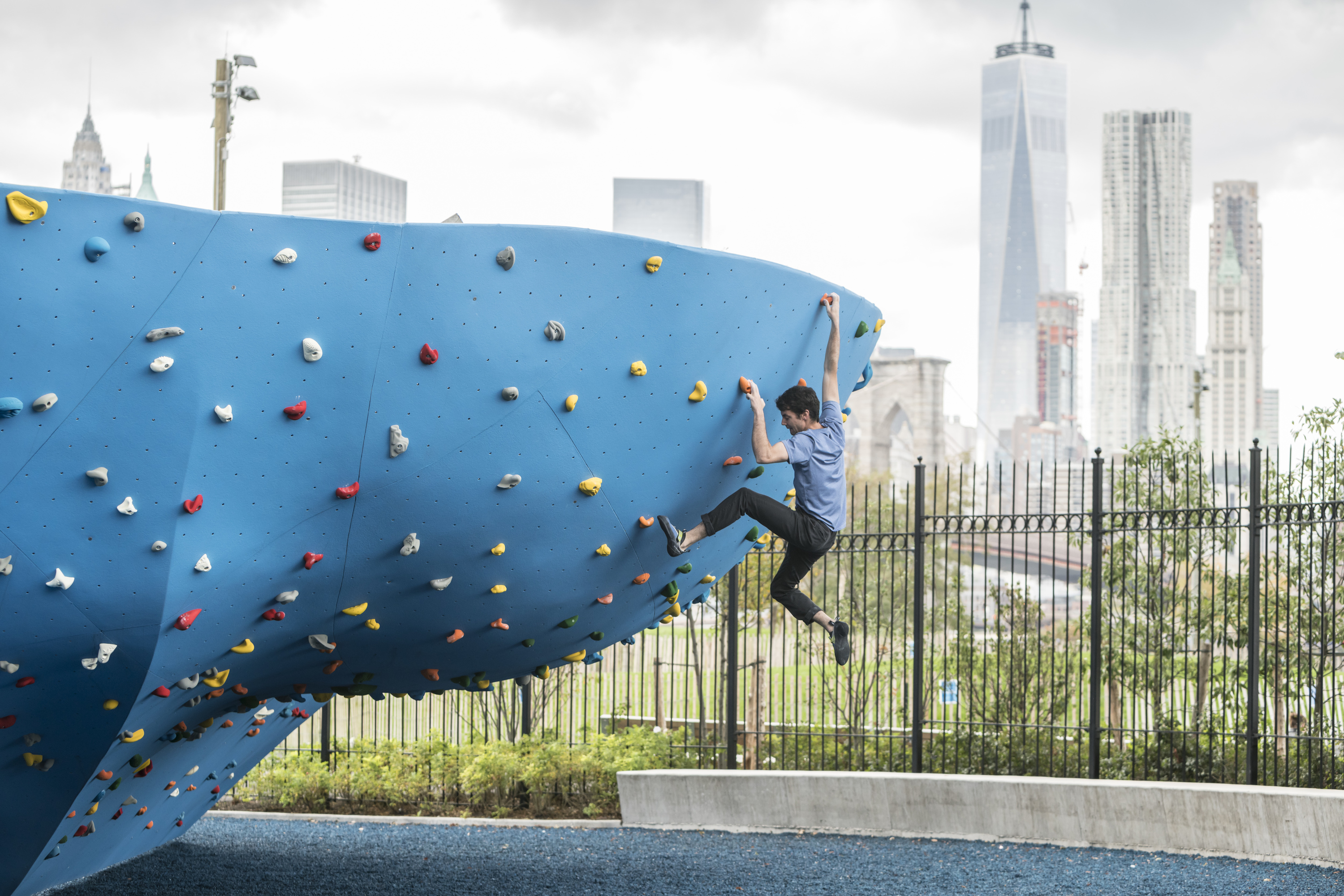 Best rock climbing gyms for kids in NYC