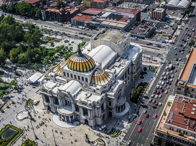 Museo del Palacio de Bellas Artes en el Centro