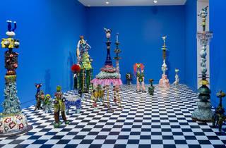 Sidney Myer Fund Australian Ceramic Award 2017 Shepparton Art Museum installation view 01 feat winning work by Jenny Orchard photographer credit Christian Capurro