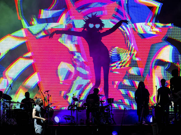 Gorillaz at Northerly Island