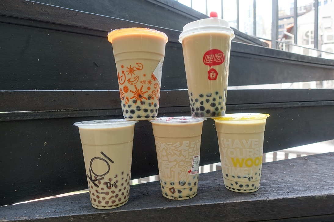 Taste test: bubble teas