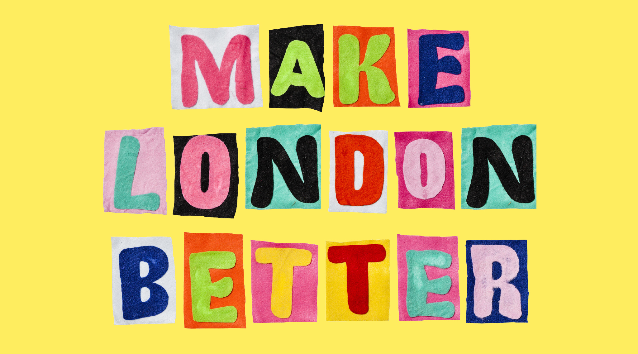 Make London better: share your idea for a way to improve the city