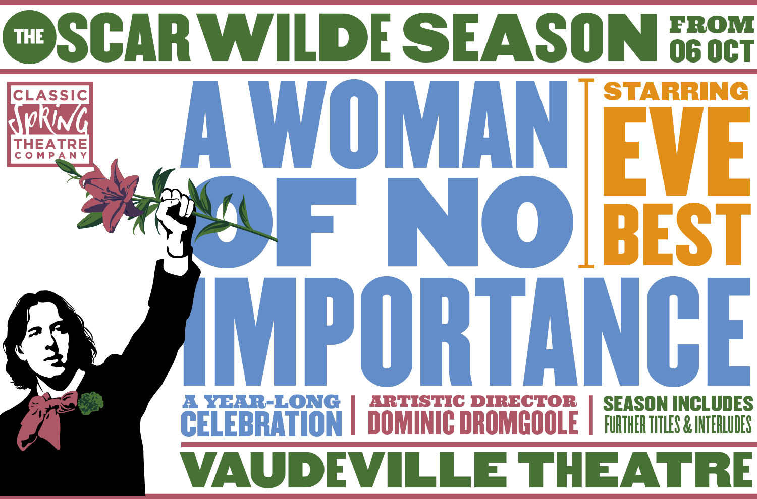 A Woman of No Importance, Dominic Dromgoole, Eve Best, Classic Spring