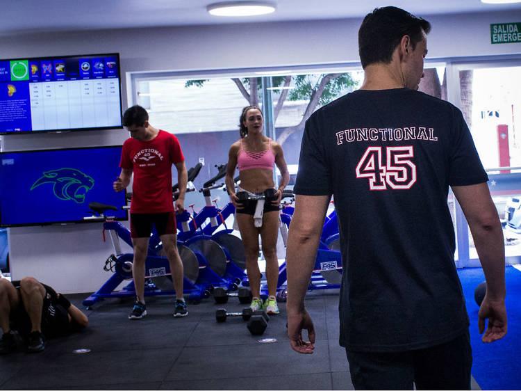 Entrenamiento funcional: F45 Training Condesa
