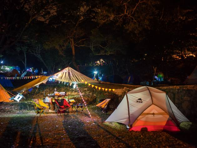 The best camping sites in Hong Kong