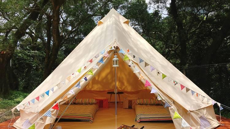 YHA Ngong Ping SG Davis Youth Hostel hassle-free camping