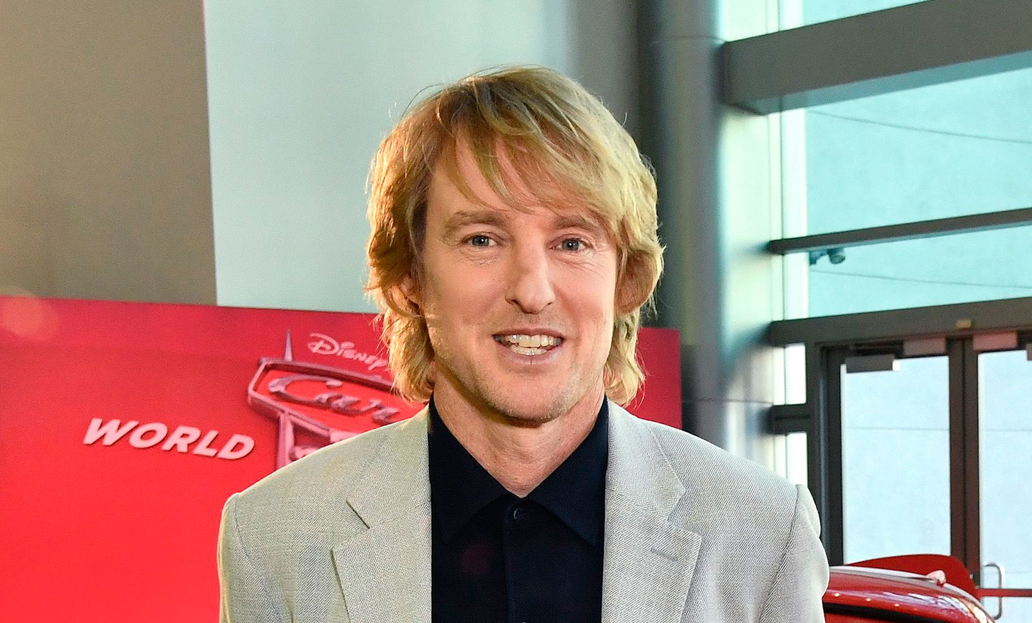 Owen Wilson: 'I get a lot of street cred for playing Lightning McQueen'