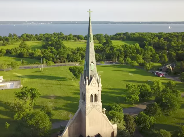 This drone video will make you actually want to visit Staten Island