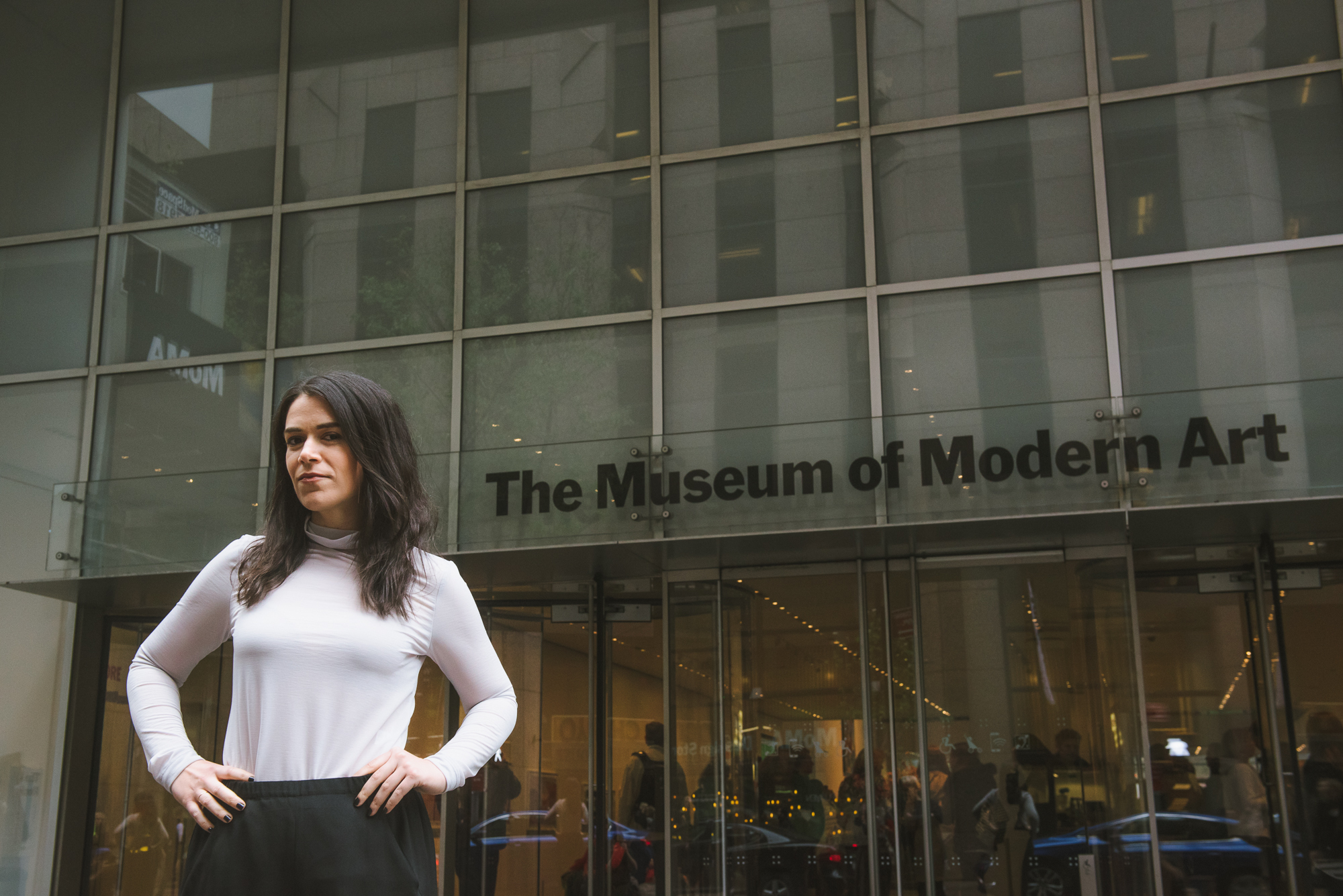 Broad City's Abbi Jacobson is reviewing NYC art