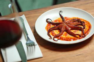 Osteria Ilaria octopus (Photograph: Graham Denholm)