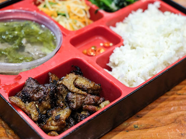 Bento box at VN Street Food