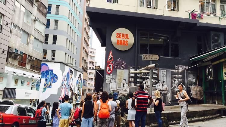 Accidental Art Street Art Walking Tour