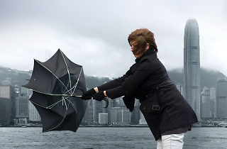 Hong Kong's first November typhoon in four years could be on the way