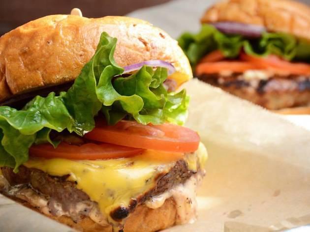 Karma Burger at Haché LA