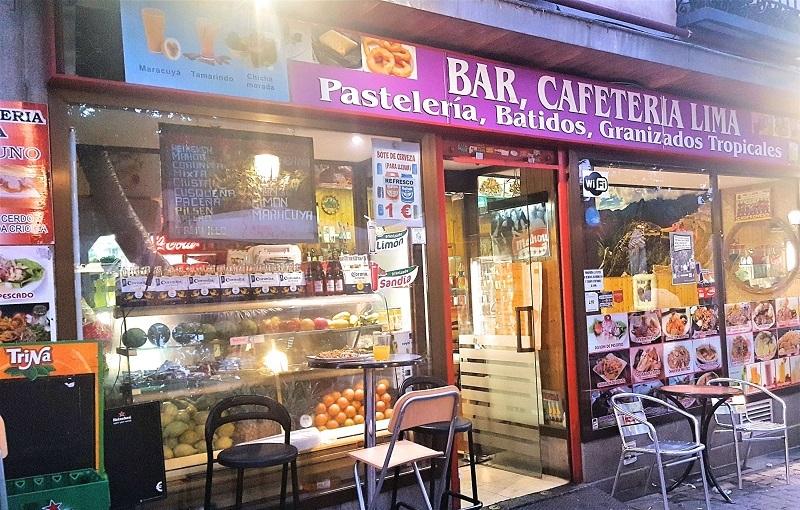 Bar Cafetería Lima