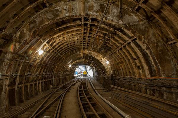 Travel deep below London on the Mail Rail