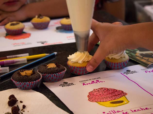 Taller de cupcakes  (Foto: Mattza Tobón)