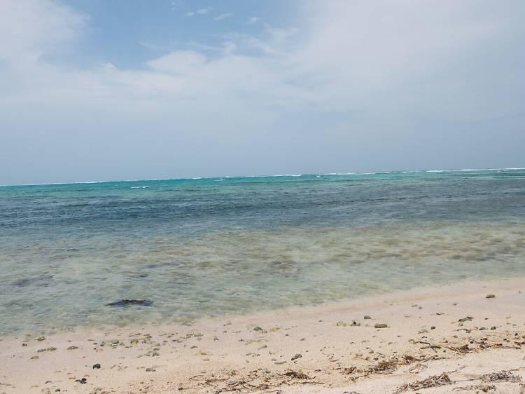 Día de diversión en la Bahía Soliman