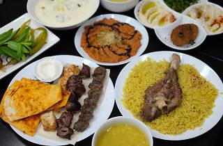 Spread of Syrian food