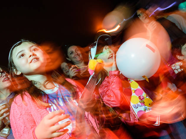 Big Fish Little Fish family rave, kids, 18 things to do before you're 18