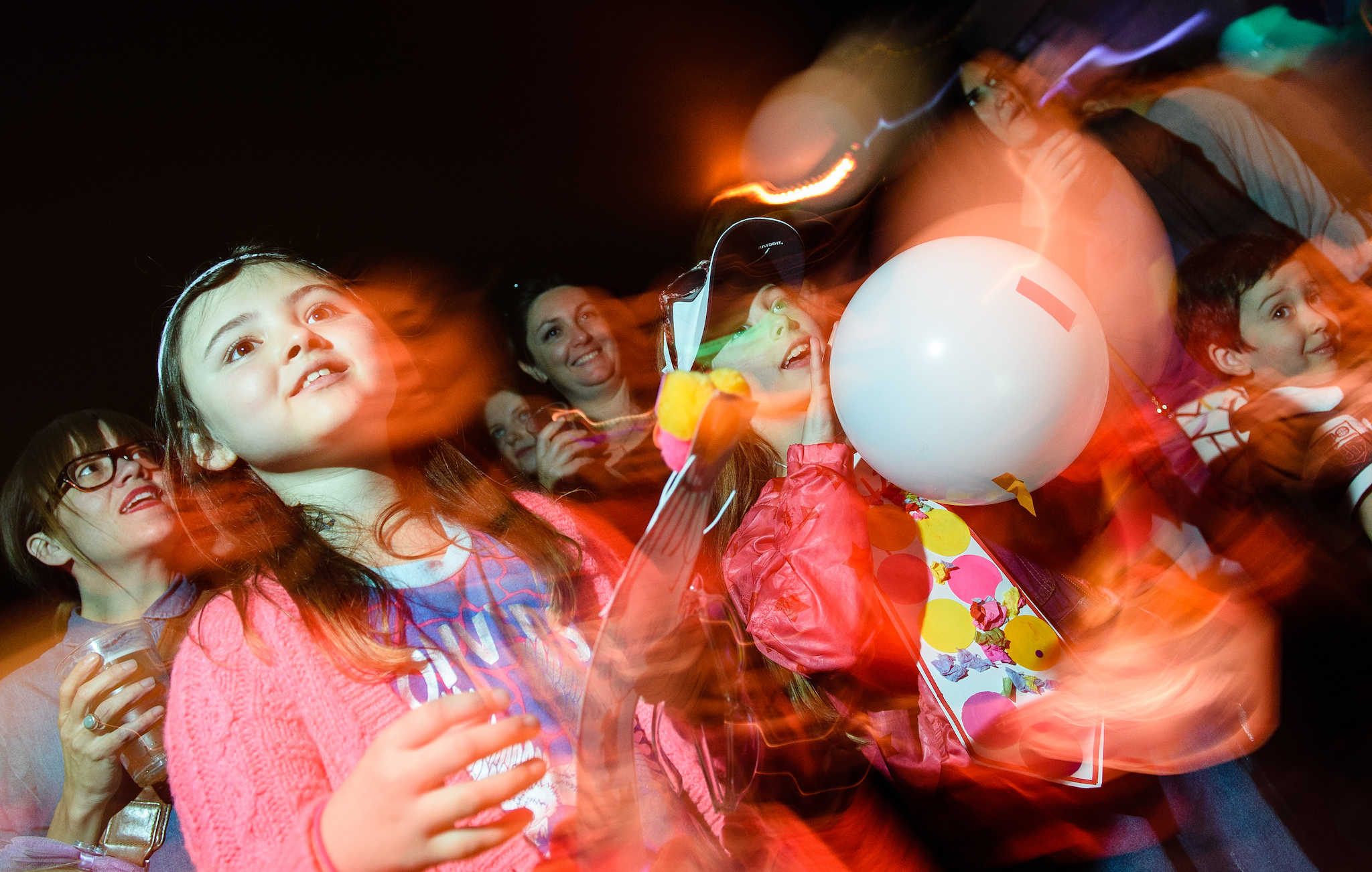 Let off steam at a family rave