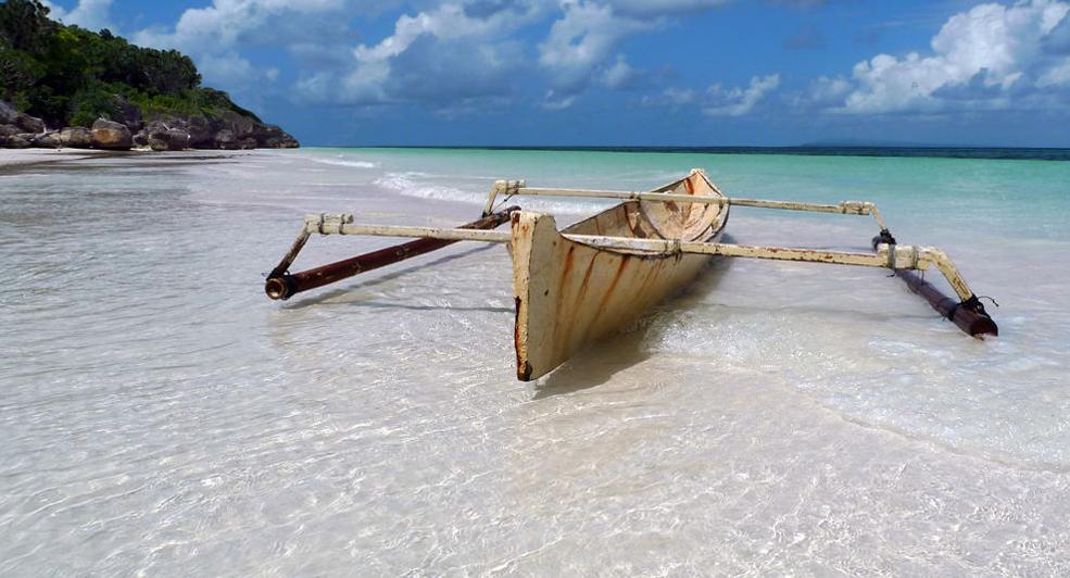 Vacaciones de aislamiento extremo en una isla
