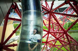 ArcelorMittal Orbit slide, Stratford Olympic Park